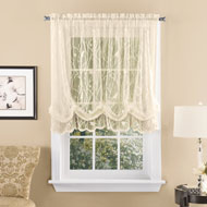 Songbird Lace Balloon Curtain Shade - 42682