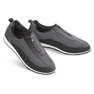 Breathable Zip Front Active Walking Shoe - 42698