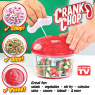Crank Chop - Handheld Food Processor - 42710