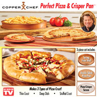 Copper Chef Perfect Pizza & Crisper Pan - 42736