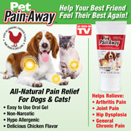 Pet Pain Away All-Natural Pet Pain Reliever Gel