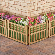 Bronze Finish Garden Border Fence, Pack of 4 - 42753