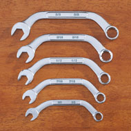 Combination Half Moon Wrench Set - 5 pc - 42772