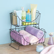 Stackable Wire Storage Baskets - 42780
