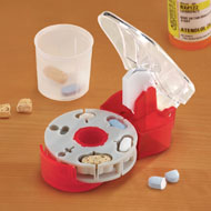 Pill Cutter for Multiple Shapes w/ Catch Cup - 42781
