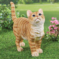 Cute Kitty Garden Statue Outdoor Decoration - 42806