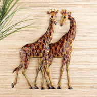 Giraffes Safari Wall Decor Art - 42855