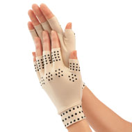 Magnetic Arthritis Compression Gloves, Nude - 42861
