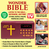 Wonder Bible Compact Audio Player - 42935