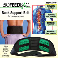 Biofeedbac Back Support Belt - 42936