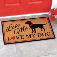 Love Me, Love My Pet Novelty Coco Mat - 42981