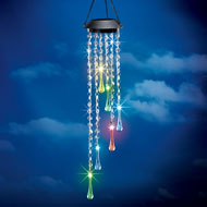 Color Changing Raindrop Solar Garden Dangler - 43093