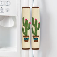 Cactus Theme Kitchen Appliance Handle Covers - 43097