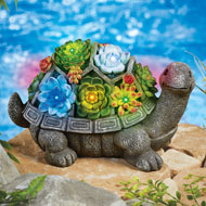 Turtle Garden Statue Solar Lighted Decoration - 43148