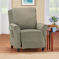 Ashton Diamond Pattern Stretch Slipcover - 43232
