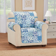 Cottage Floral Reversible Furniture Protector - 43268
