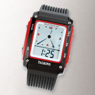 Talking Watch with Digital & Analog Time - 43302