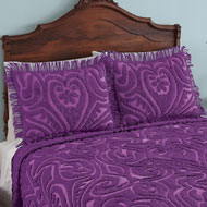 Parkside Plush Scroll Chenille Pillow Sham - 43386