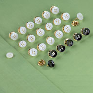 No-Sew Easy Button Replacement Set - 24pc - 43490