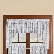 Windsor Lace Window Curtain Swag Set - 43530