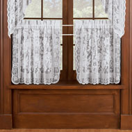 Windsor Lace Cafe Curtain Tier Set - 43531