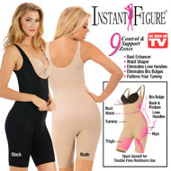 Instant Figure Slimming Full Body Shapewear - 43551