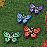 Decorative Butterfly Solar Lights, Set of 4 - 43565