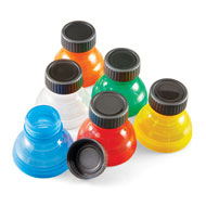 Fresh Top Caps Easy Snap-On Can Lids, Set of 6 - 43566
