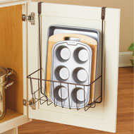 Over Cabinet Door Storage Kitchen Organizer - 43585