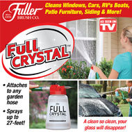 Fuller Brush Full Crystal Outdoor Glass Cleaner - 43594