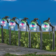 Sparkling 2 in 1 Outdoor Solar String & Path Lights - 43610