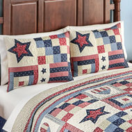 Patriotic Country Americana Bedding Pillow Sham - 43618