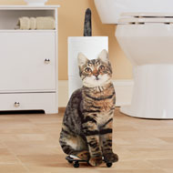 Cat Bathroom TP Holder