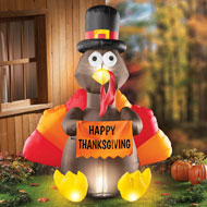 Inflatable Turkey Outdoor Thanksgiving Decoration