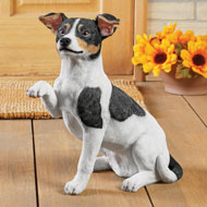 Jack Russell Terrier Statue, Indoor & Outdoor Use - 43732