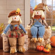 Festive Scarecrow Sitters - 43782