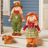 Expandable Fall Scarecrows Outdoor or Indoor Décor - 43783