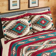 Aztec Fleece Southwest Bedding Pillow Sham - 43820