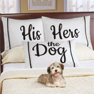 3pc Pet Lovers Pillowcase Gift Set