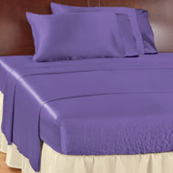 Bed Tite Satin Sheets Set, 4 Pc - 43885