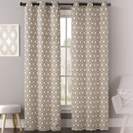 Mystique Lattice Grommet Curtain Panel Pair - 43941