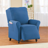 Form Fit Diamond Slipcover with Side Pockets - 44090