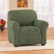 Leaf Pattern Stretch Slipcover - 44116