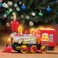 Musical Bump-N-Go Bubble Blowing Train w/ Lights - 44125
