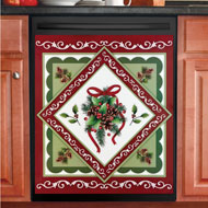 Christmas Kitchen Dishwasher Magnet Cover - 44143