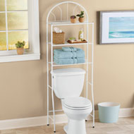 3-Tier Over the Toilet Bathroom Organizer - 44248