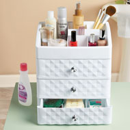Drawer and Makeup Storage Organizer for Countertop