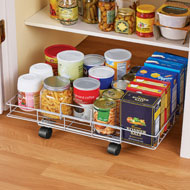 Slim Flat Rolling Floor Shelf - 44265