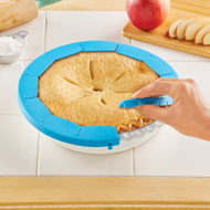 Adjustable Silicone Pie Crust Shield - 44274