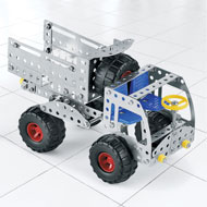 Metal Pieces Toy Truck Building Kit, 207 Pc - 44290